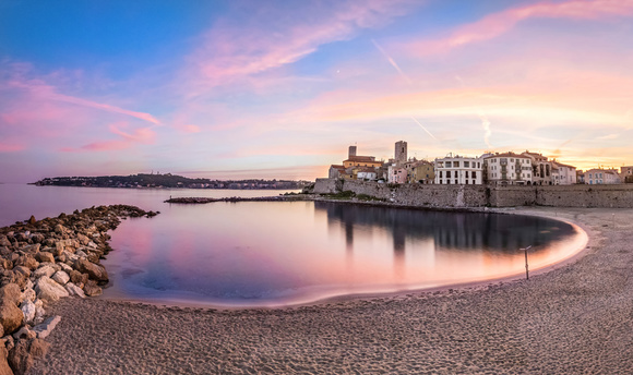 Vue panoramique Antibes